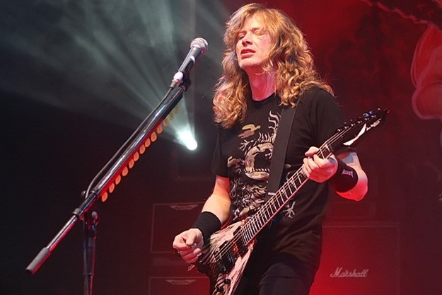 Dave Mustaine es crisitiano